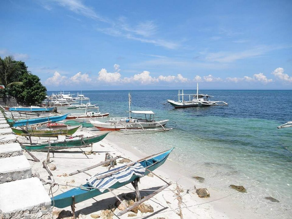 Camotes islands Santiago bay