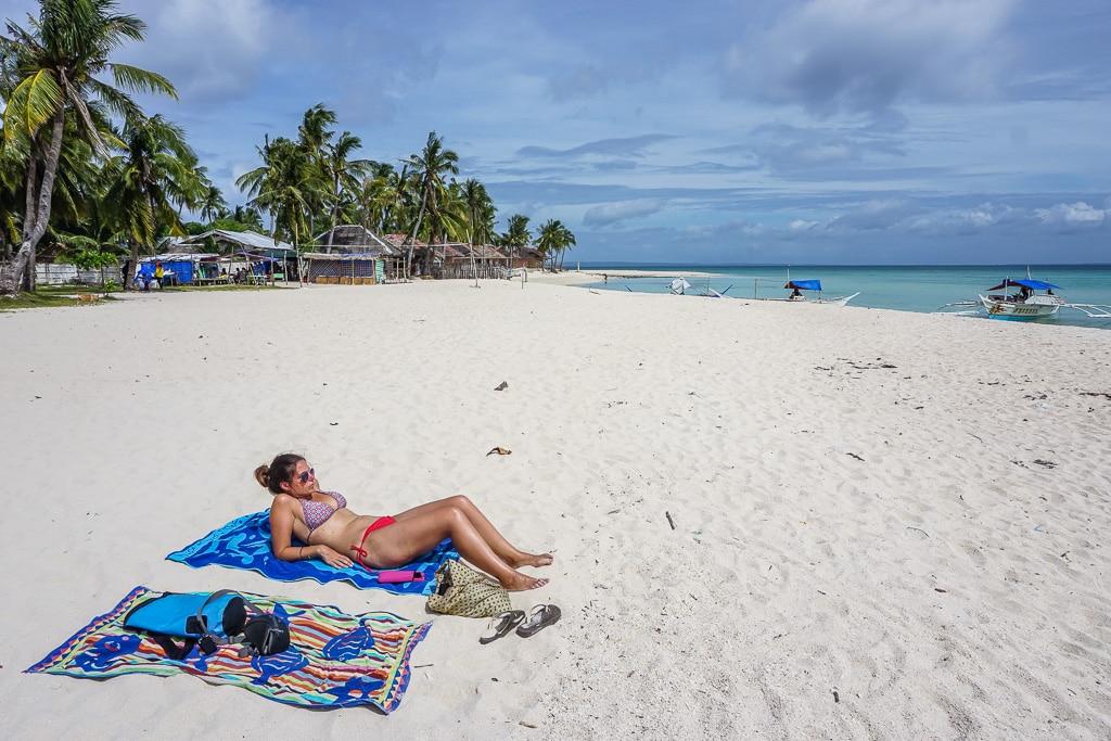 Santa Fe Beach on Bantayan Island