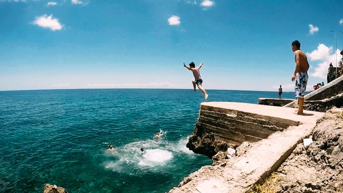 jumping Buho Rock