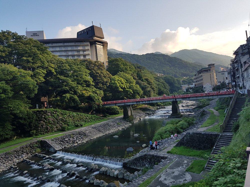 Mountain river at Hakone