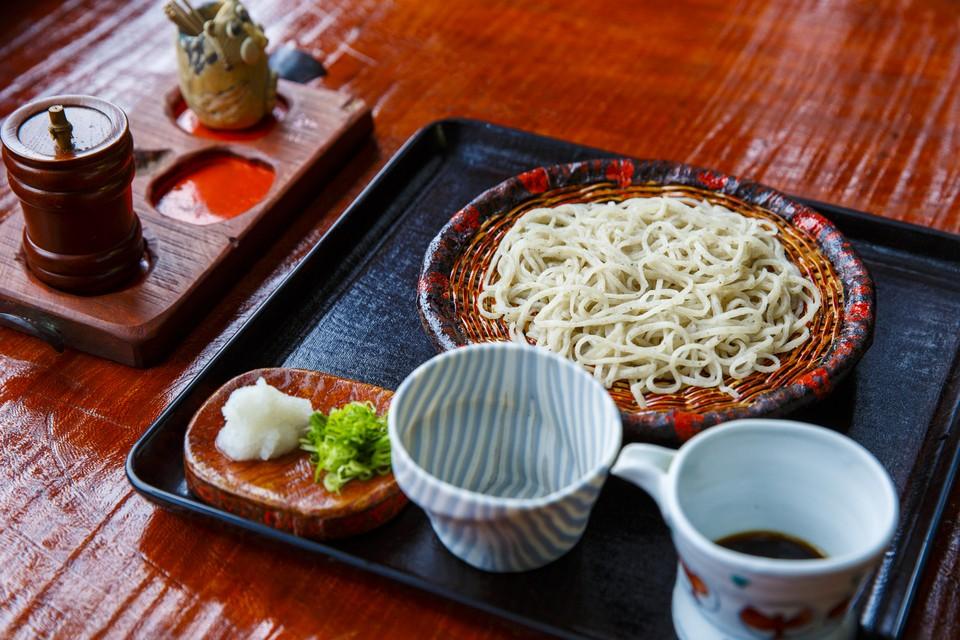 Takeyabu soba noodles hakone
