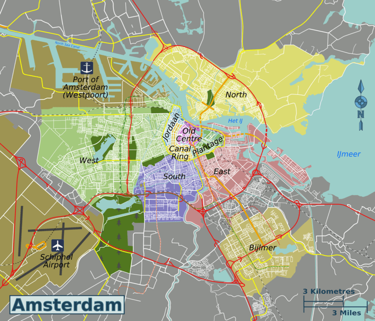 Amsterdam-map