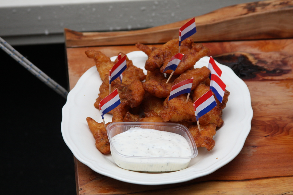 Kibbeling (Deep fried battered fish pieces) (1)