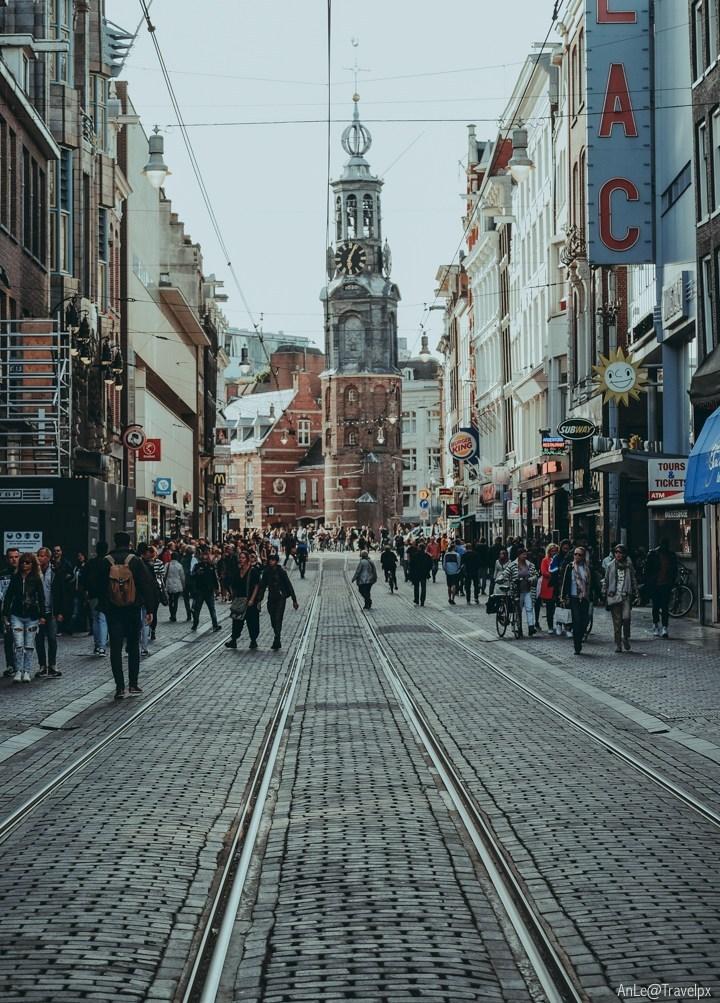 Rembrandtplein Square amsterdam (1)