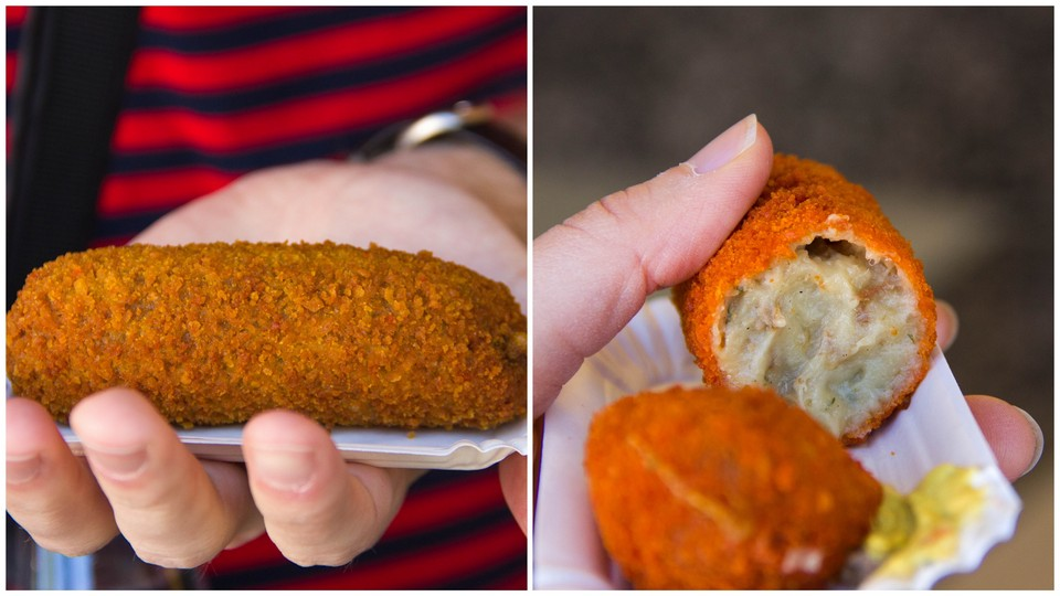 Dutch Croquette from the Febo