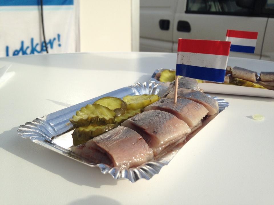 herring in Amsterdam (Hollandse Nieuwe)