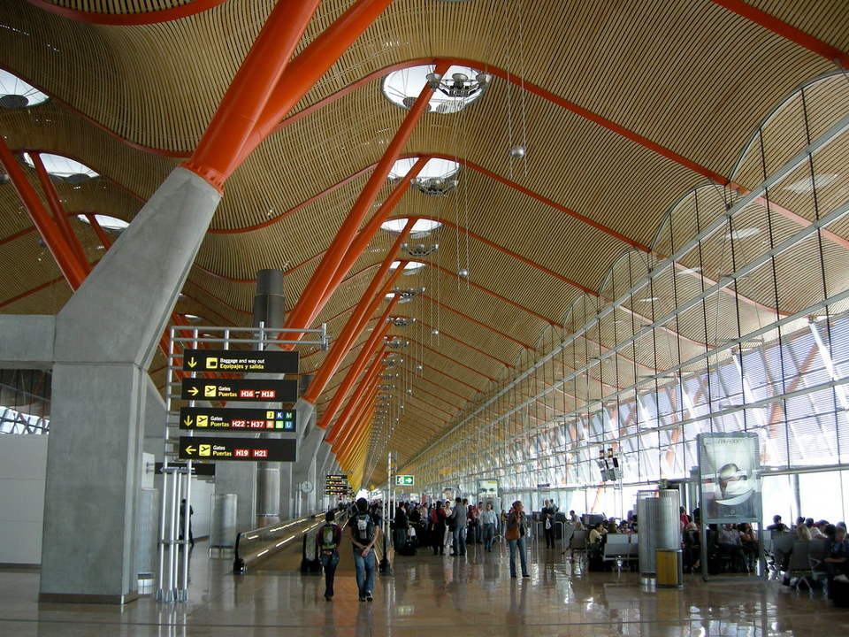 Madrid-Barajas-AirporT t4