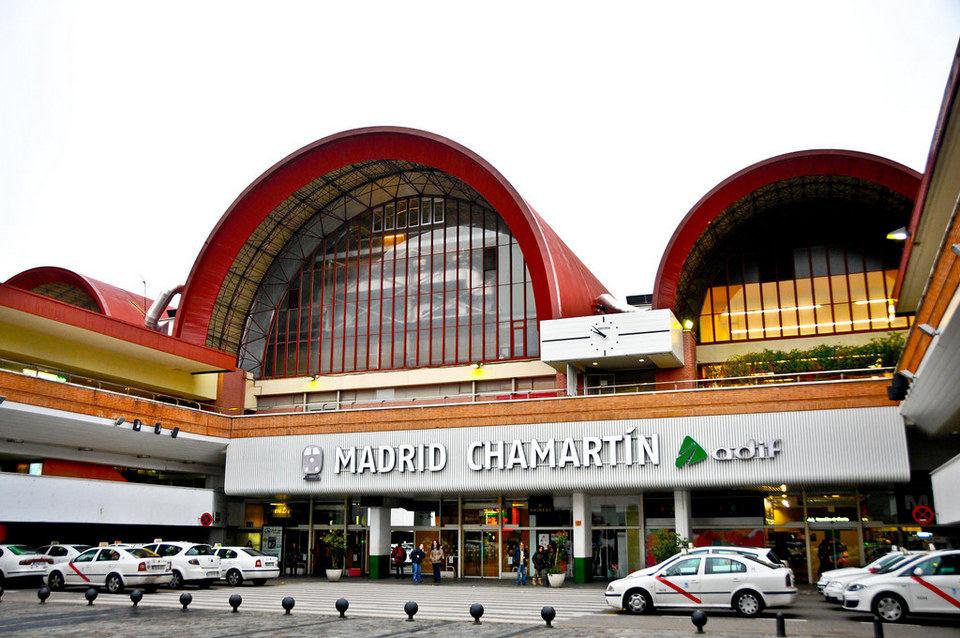 Madrid Chamartin Train Station Madrid Spain