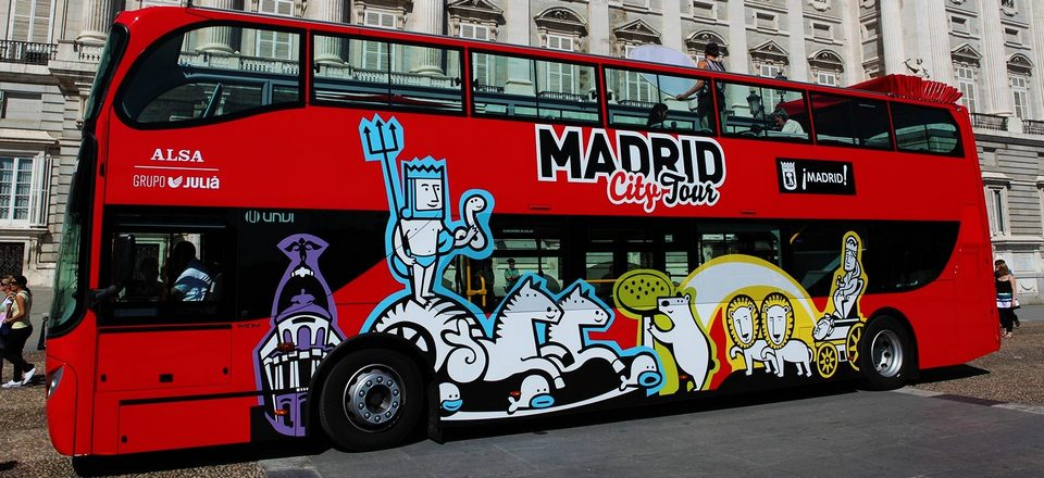 City tour bus madrid