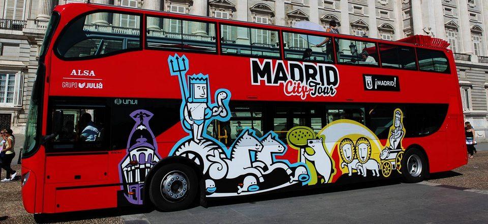 City tour bus madrid