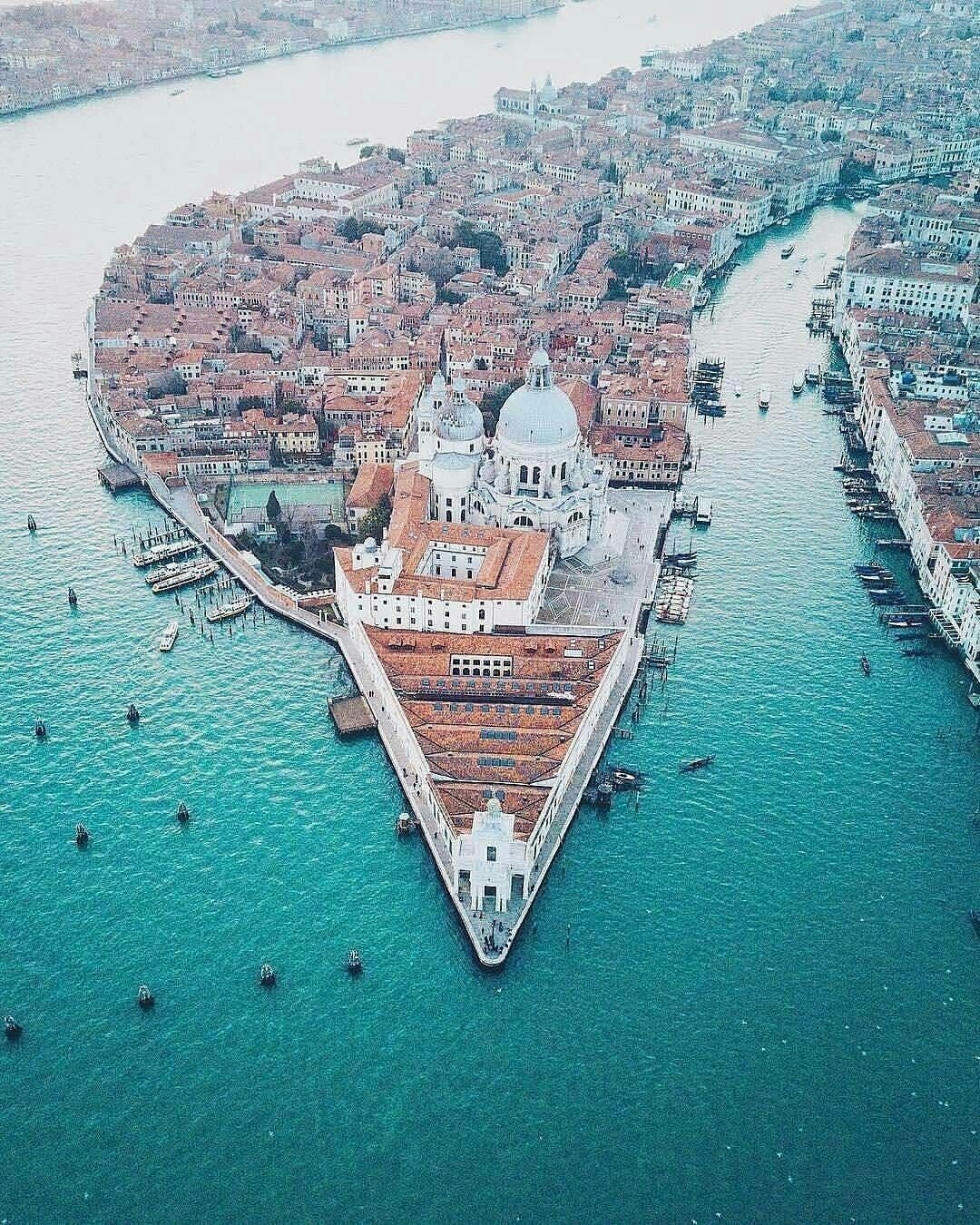 Venice seen from above