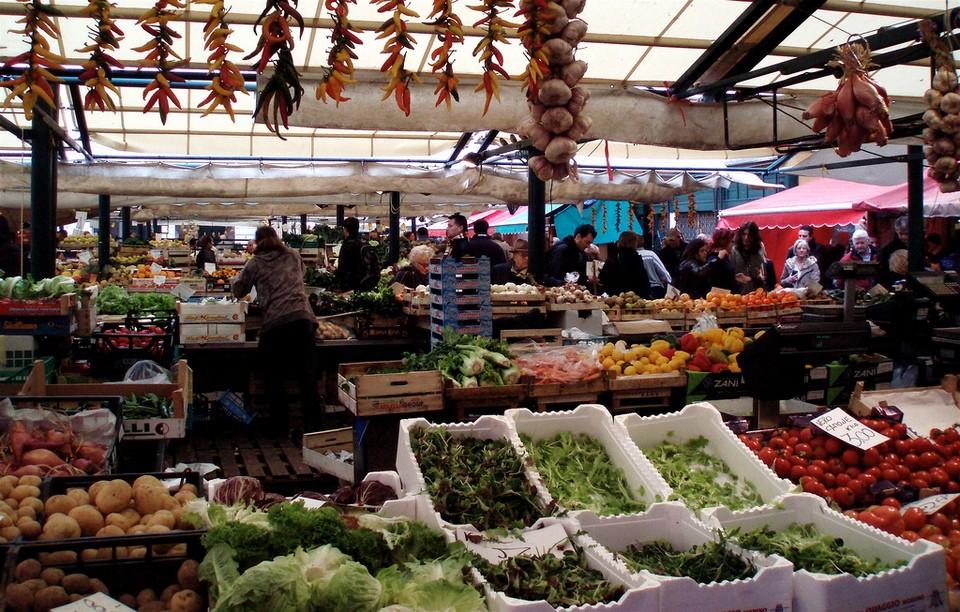 Erberia rialto market