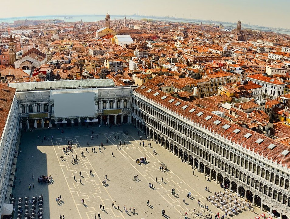 Piazza San Marco and the Basilica San Marco in Venice, Italy