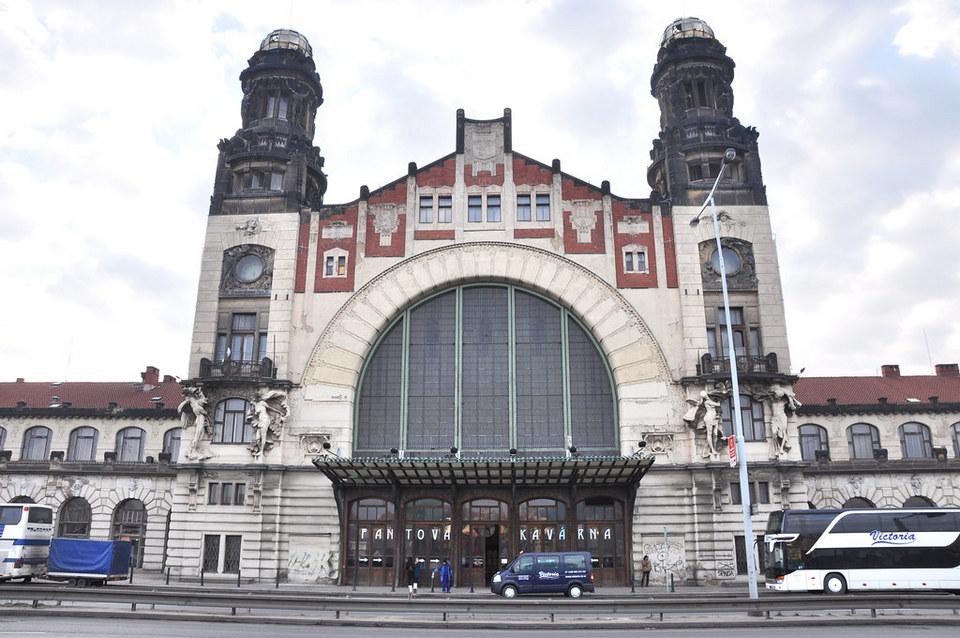 Praha hlavní nádraží (Prague Main railway station)