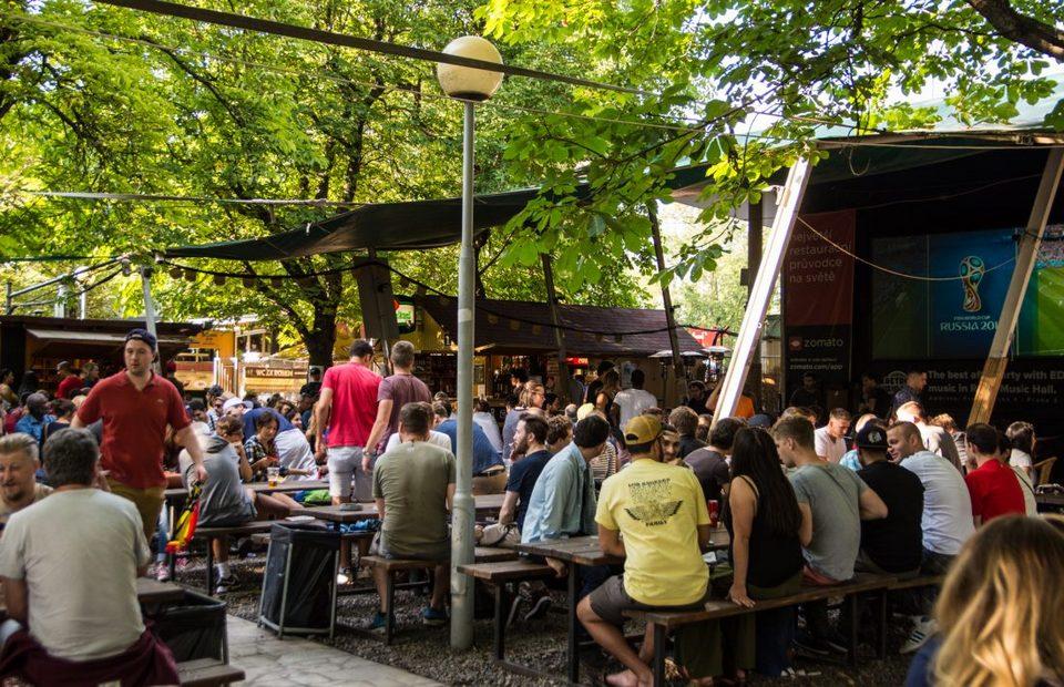 Riegrovy Sady beer garden