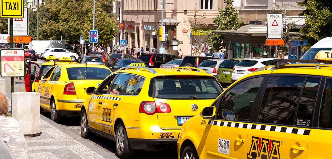 taxis praha