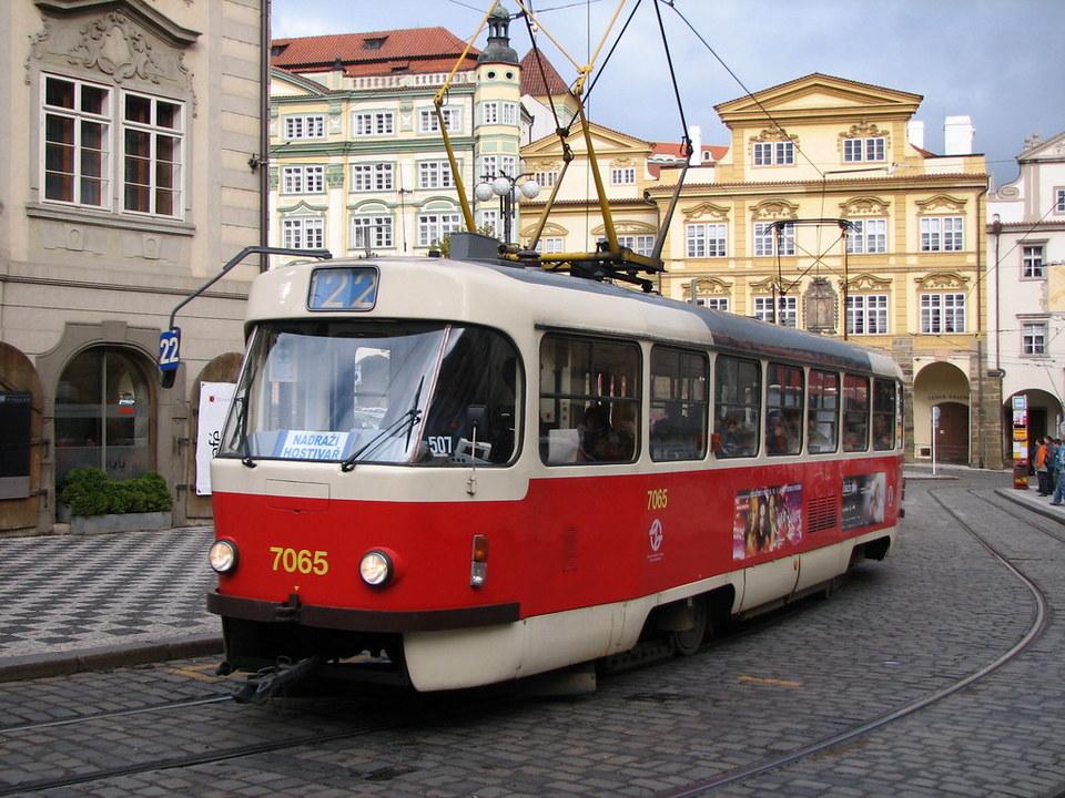tram 22 praha