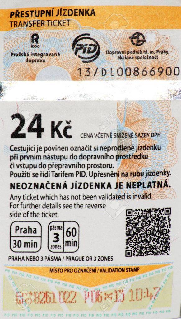 Ticket 24 CZK