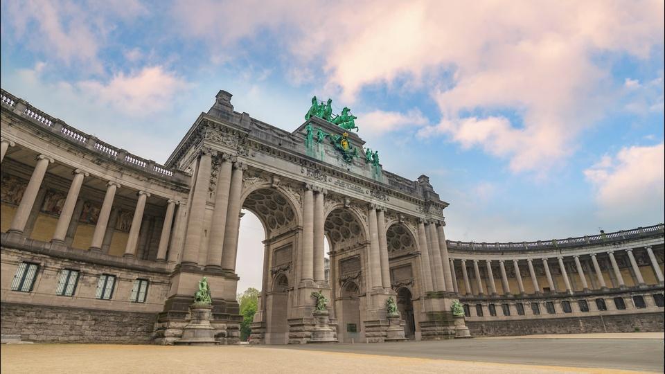 Arcades du Cinquantenaire (Triomfboog van het Jubelpark),brussels travel blog (1)