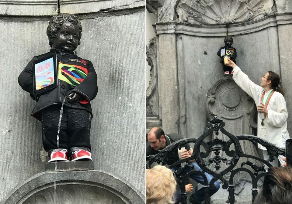 Peeing Boy Statue – Manneken Pis,brussels travel blog,brussels travel guide,brussels city guide (1)