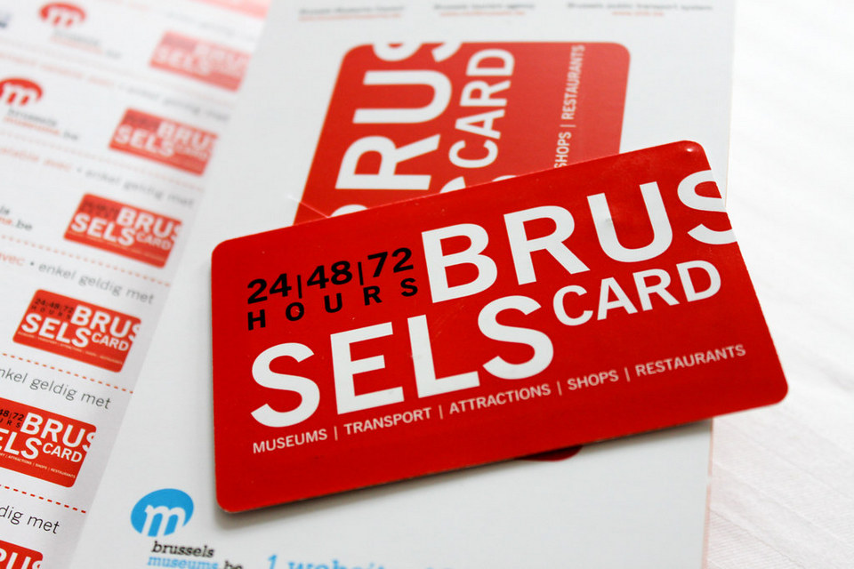 brussels tourist card