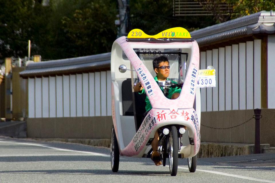 Dazaifu Velo Taxi,fukuoka travel blog