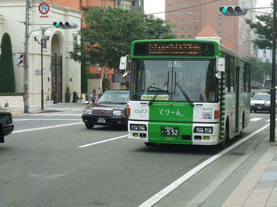 Green Fukuoka City Loop Bus