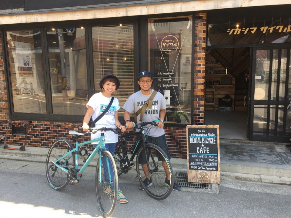 getting around fukuoka by bike