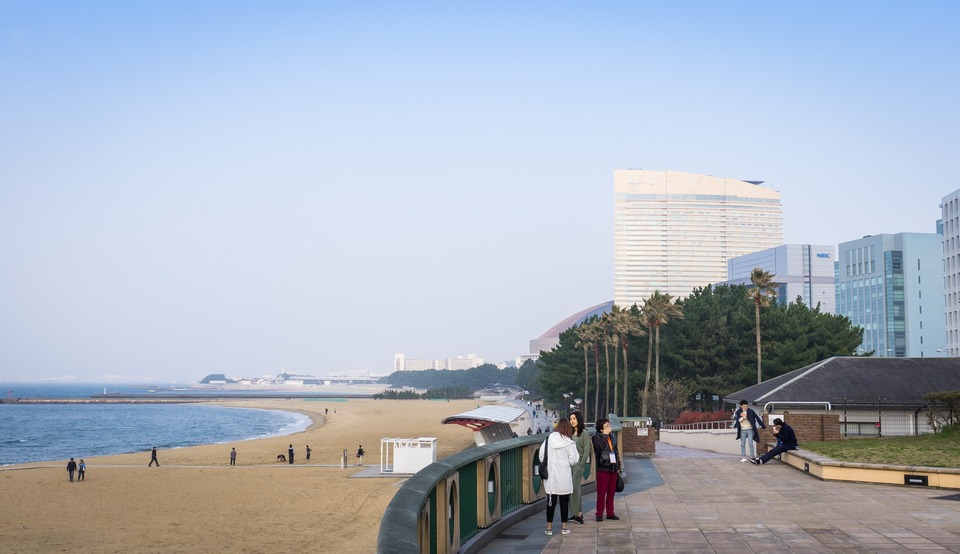 Momochi Seaside Park,fukuoka travel blog (1)