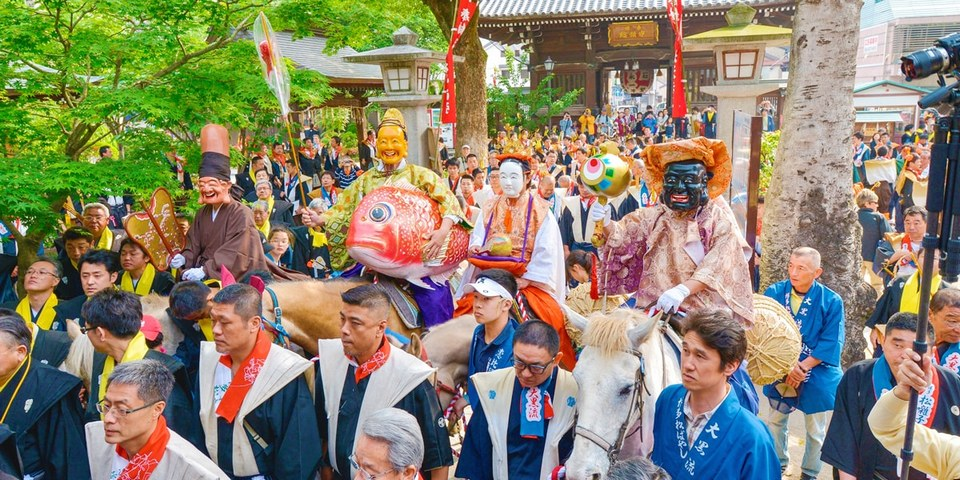 The Hakata Dontaku Festival,fukuoka travel blog (1)