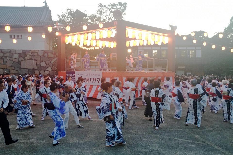 Summer Nights At Nagoya Castle Bon Festival