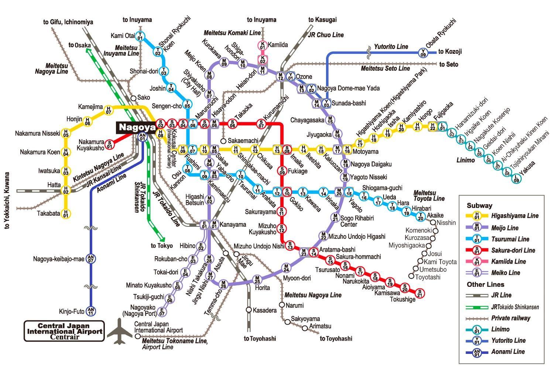 nagoya-subway-map