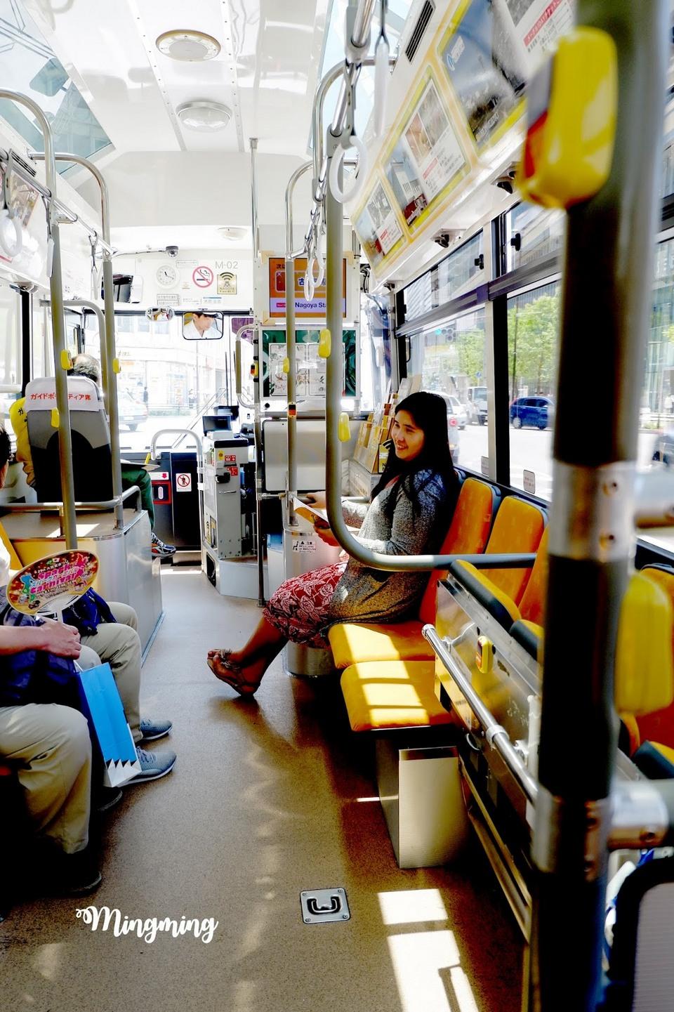 nagoya tour bus
