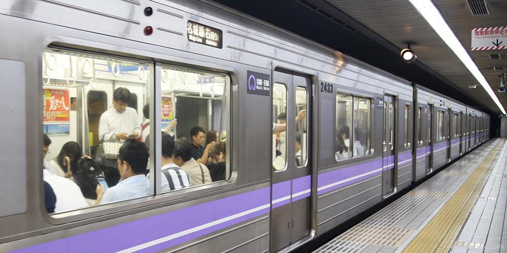 subway train Nagoya_Transportation_170704