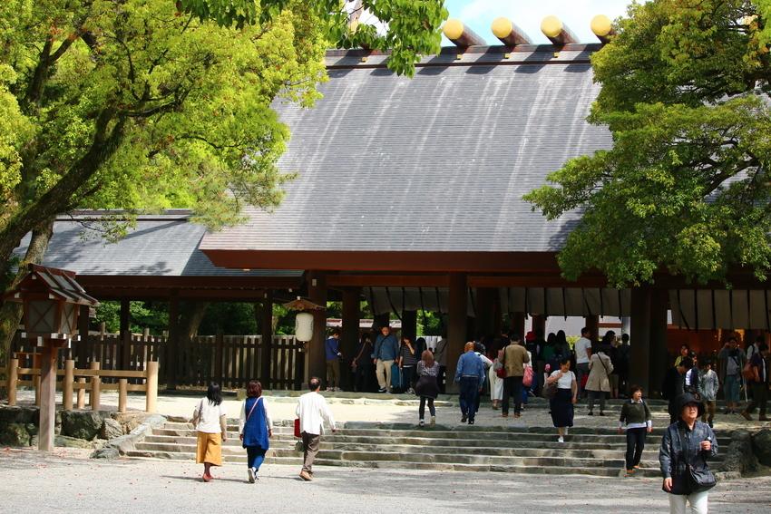 Atsuta Jingu Shrine,nagoya travel blog (1)