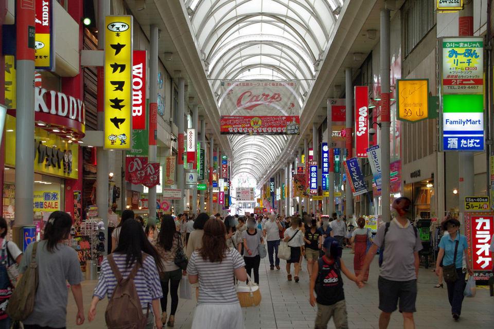 Hondori shopping street (1)