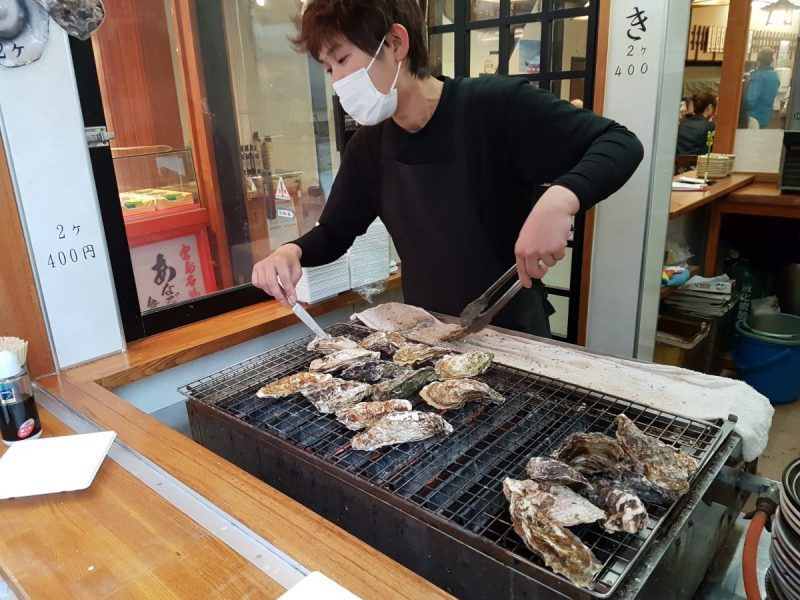 Oysters hiroshima travel blog (1)