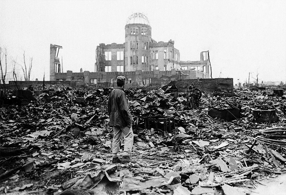 atomic bomb dome hiroshima TRAVEL BLOG in the pass