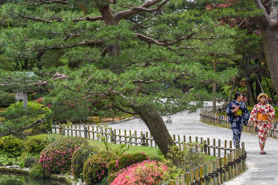 Kenroku-en Garden,kanazawa travel blog (1)