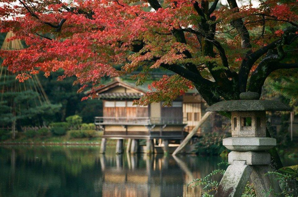 kanazawa in fall