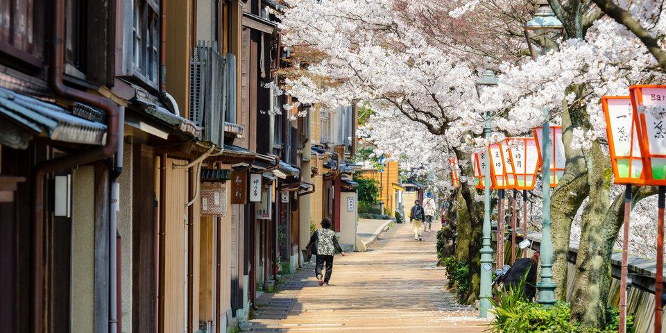kanazawa in spring
