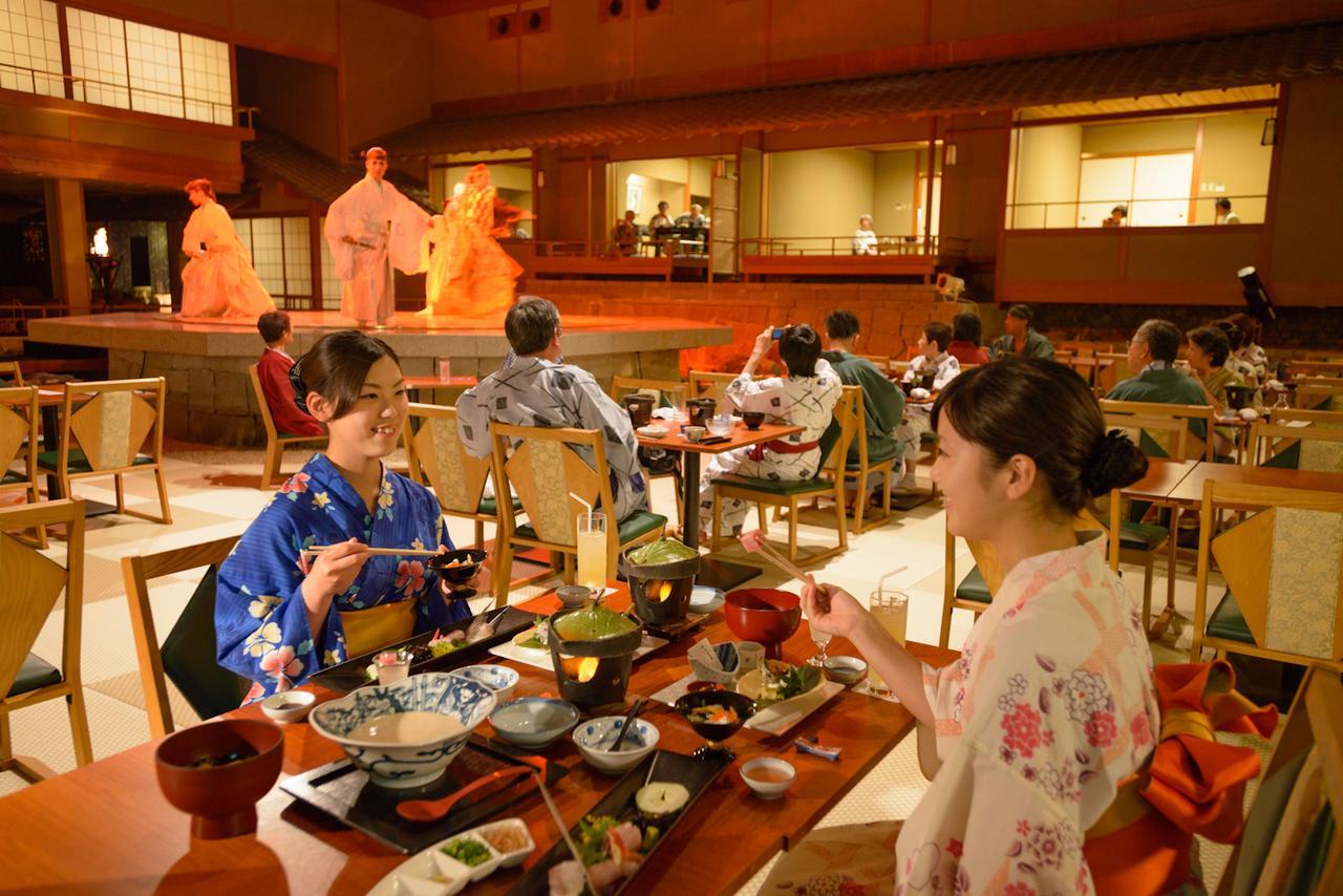 dining at Hotel Aenokaze