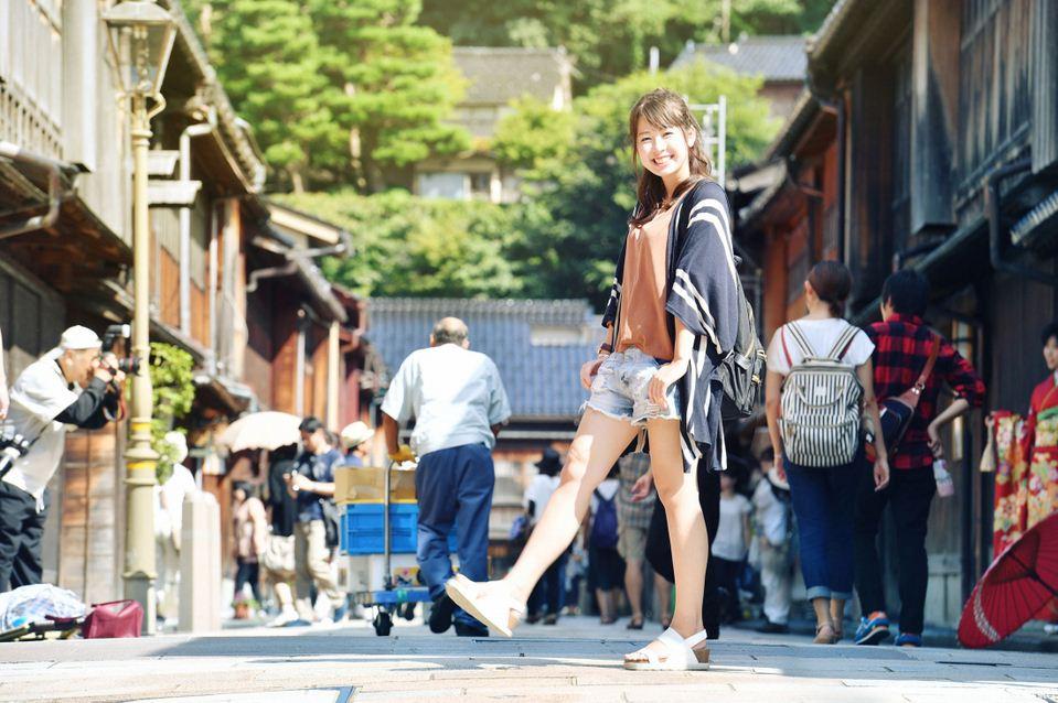 geisha street kanzawa