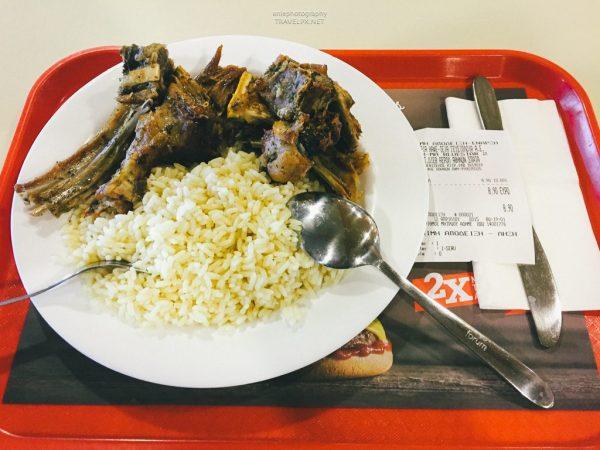 lamb stewed rice
