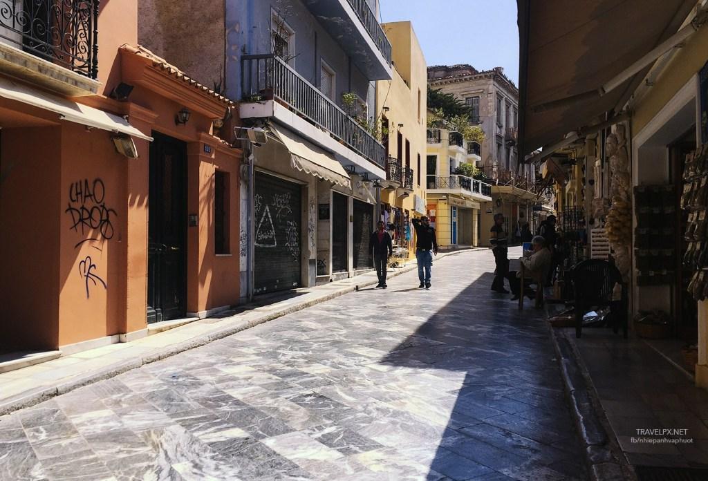 Plaka – Athens Old Town,athens travel blog (1)