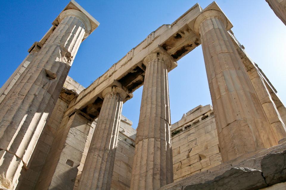 Propylaea of the Acropolis,athens travel blog