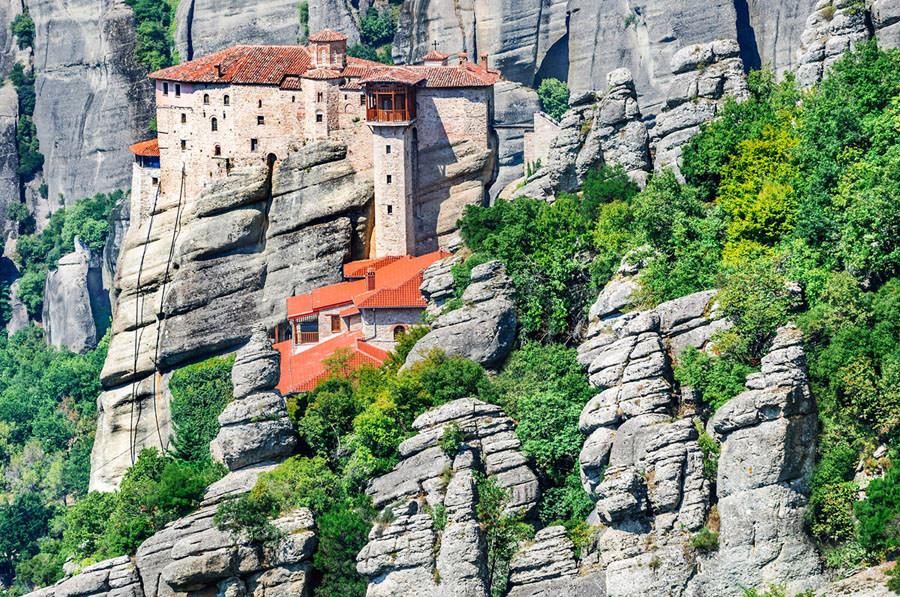 Monastery of Holy Trinity in Meteora, Greece