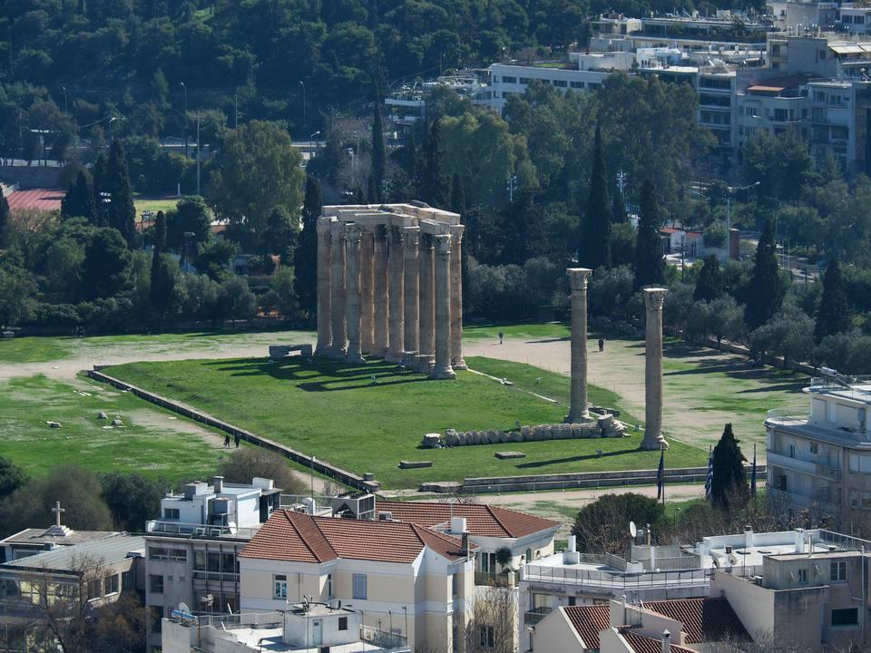 Temple of Olympian Zeus & Arch of Hadrian