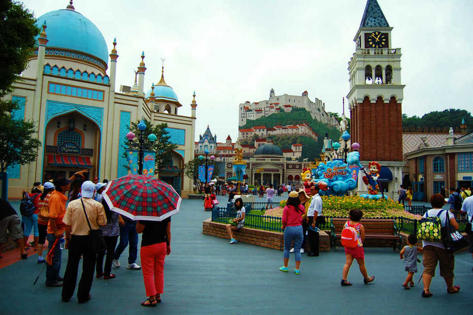 Global Fair, Everland Park, Korea