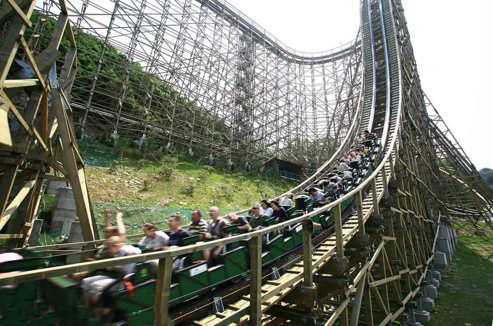 Rollercoaster, Everland, Korea 2